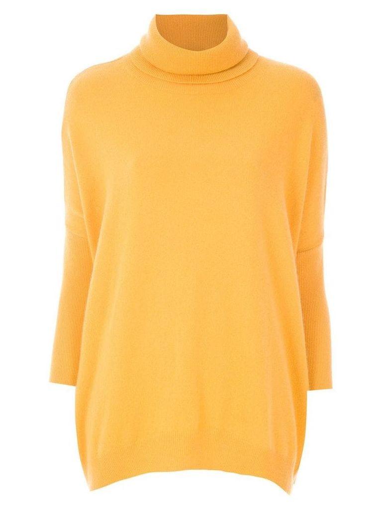 Egrey cashmere sweater - White