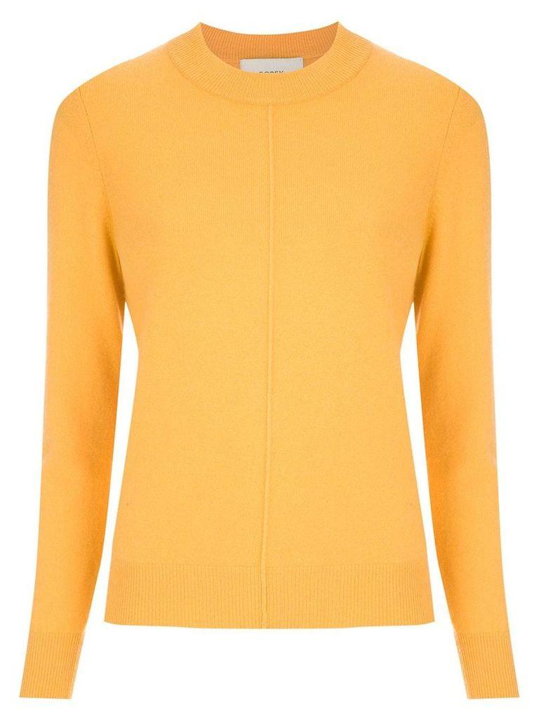 Egrey cashmere sweater - Yellow