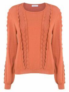 Nk knitted top - Orange
