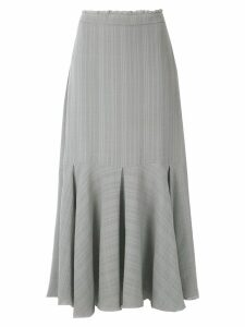 Magrella pleated midi skirt - Grey