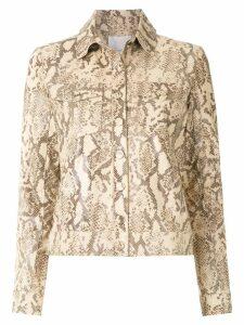Nk animal print jacket - Neutrals