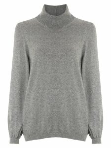 Nk knitted turtleneck top - Grey