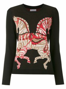 Nk printed sweatshirt - Black