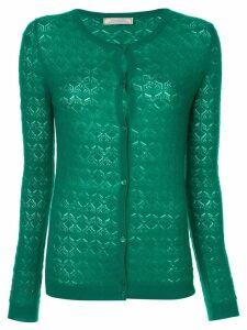 Nina Ricci patterned cardigan - Green