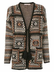 Cecilia Prado Fabricia knitted card-coat - Grey