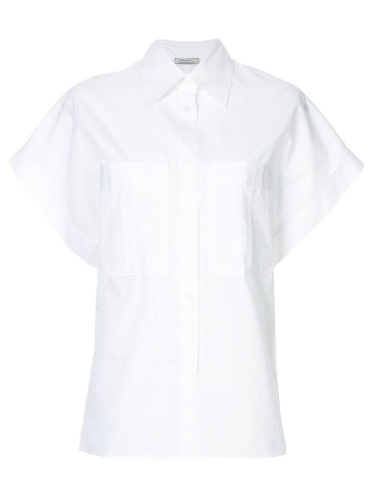 Nina Ricci wide sleeved shirt - White