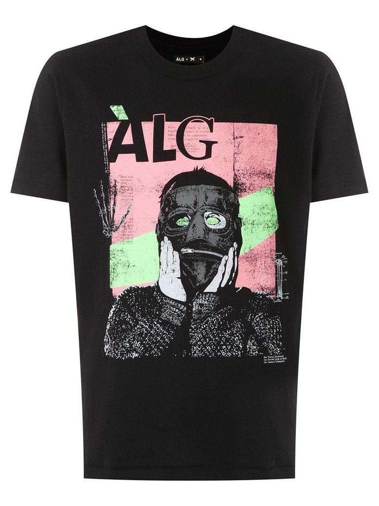 Àlg camiseta máscara ÀLG + HERING - Black