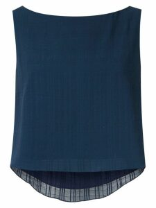 Magrella cropped top - Blue