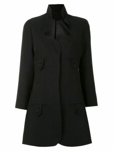 Andrea Bogosian panelled coat - Black