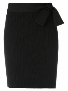 Magrella Pareo short skirt - Black