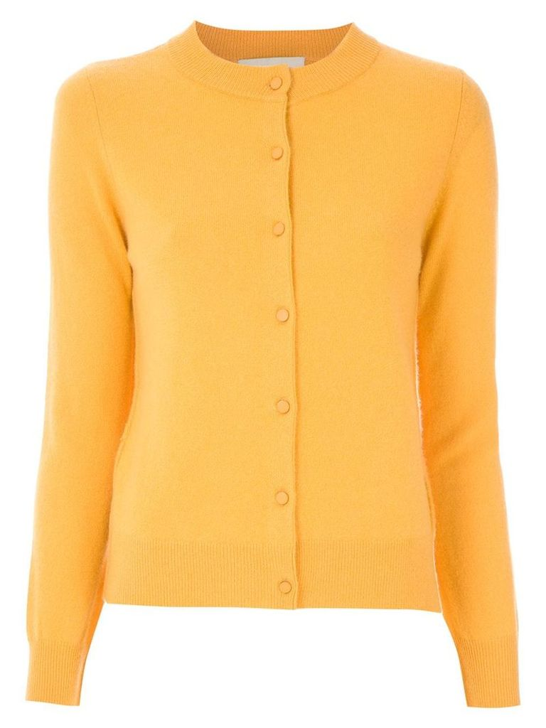Egrey cashmere cardigan - Yellow