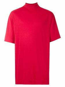 À La Garçonne high neck t-shirt - Red