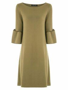 Gloria Coelho a-line dress - Green