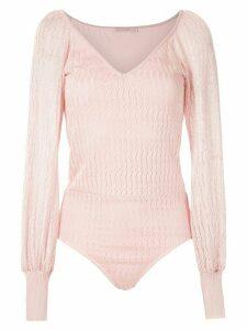 Cecilia Prado Iracema bodysuit - Pink