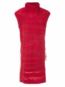 Uma Raquel Davidowicz Livia dress - Red