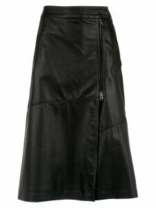 Alcaçuz juno midi skirt - Black