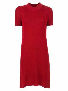 Osklen textured slim dress