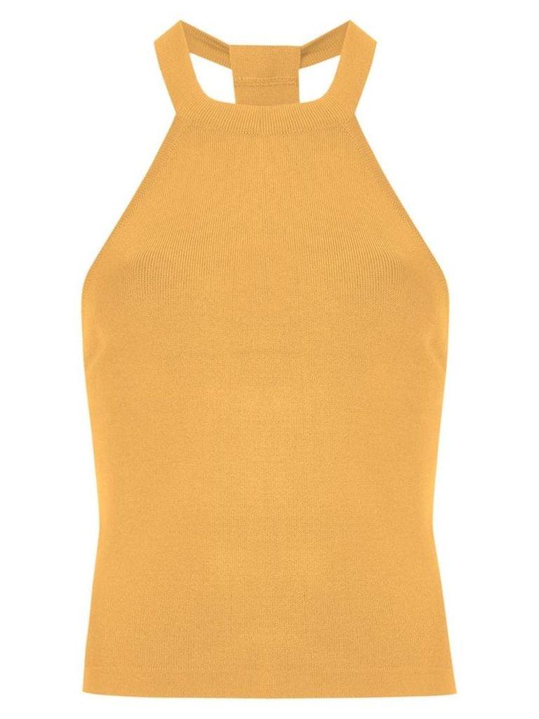 Egrey halterneck top - Yellow