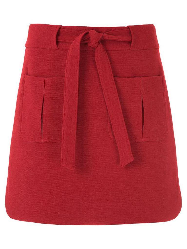 Egrey short skirt - Red