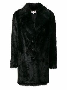 Patrizia Pepe fitted coat - Black