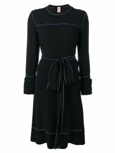 Marni belted sweater dress - Black