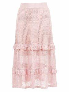 Cecilia Prado Irene midi skirt - Pink
