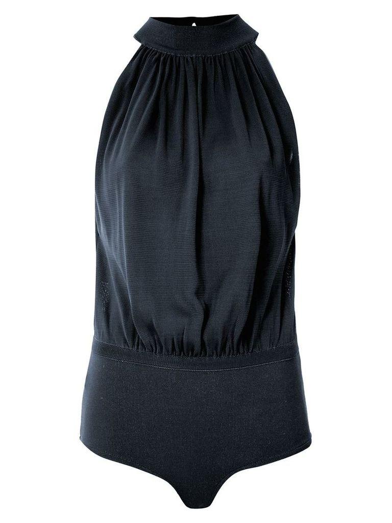 Egrey halter neck bodysuit - Blue
