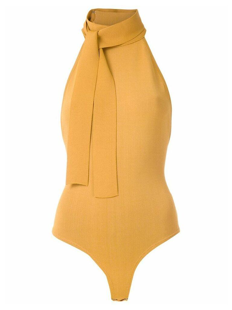 Egrey knit bodysuit - Yellow