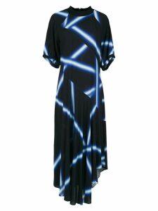 Alcaçuz Lar printed dress - Blue