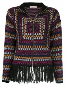 Cecilia Prado Fani knitted jacket - Multicolour