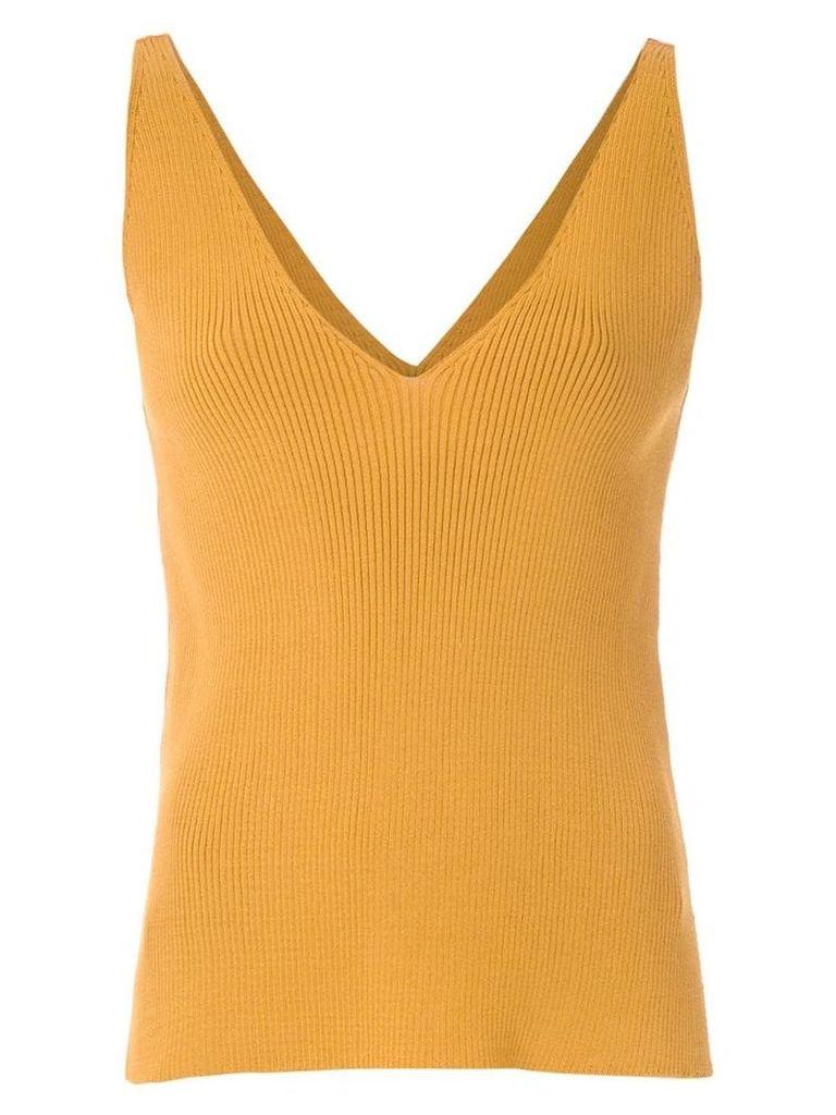 Egrey knit blouse - Yellow