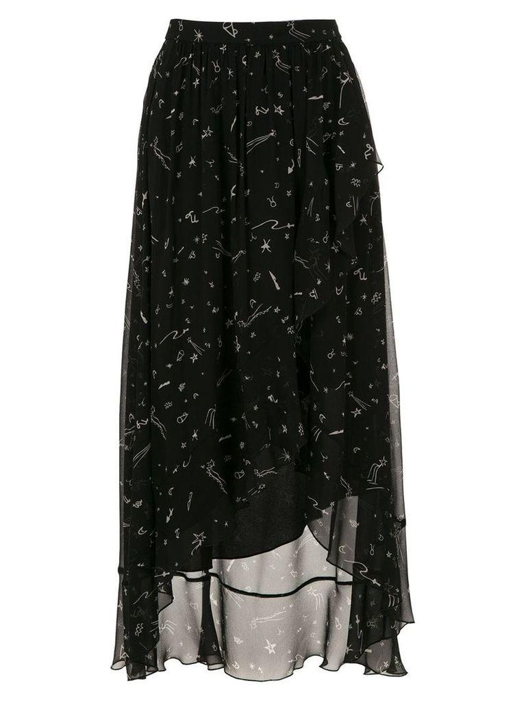 Nk printed skirt - Black