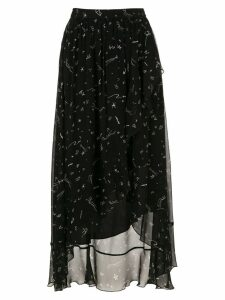 Nk printed skirt - Black