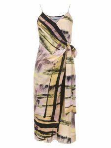 Mara Mac printed dress - Yellow