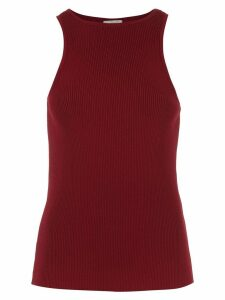 Egrey knitted ribbed top - Purple