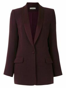 Egrey single breasted blazer - Purple