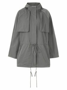 Gloria Coelho hooded parka - Grey