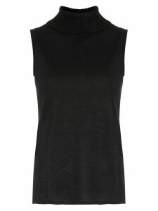 Cecilia Prado Ingla high neck top - Black