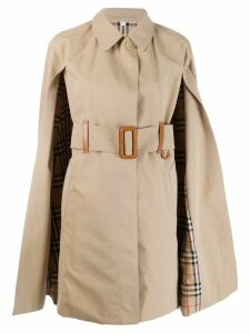 Burberry cape trench coat - Neutrals