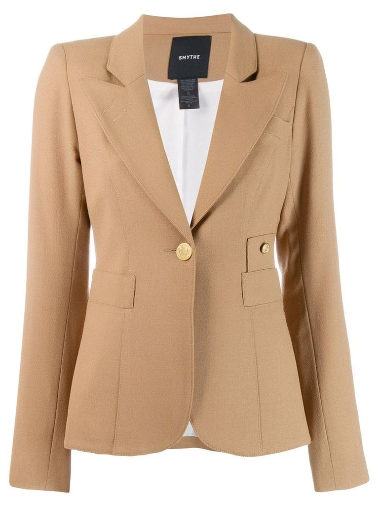 Smythe Duchess blazer - Brown