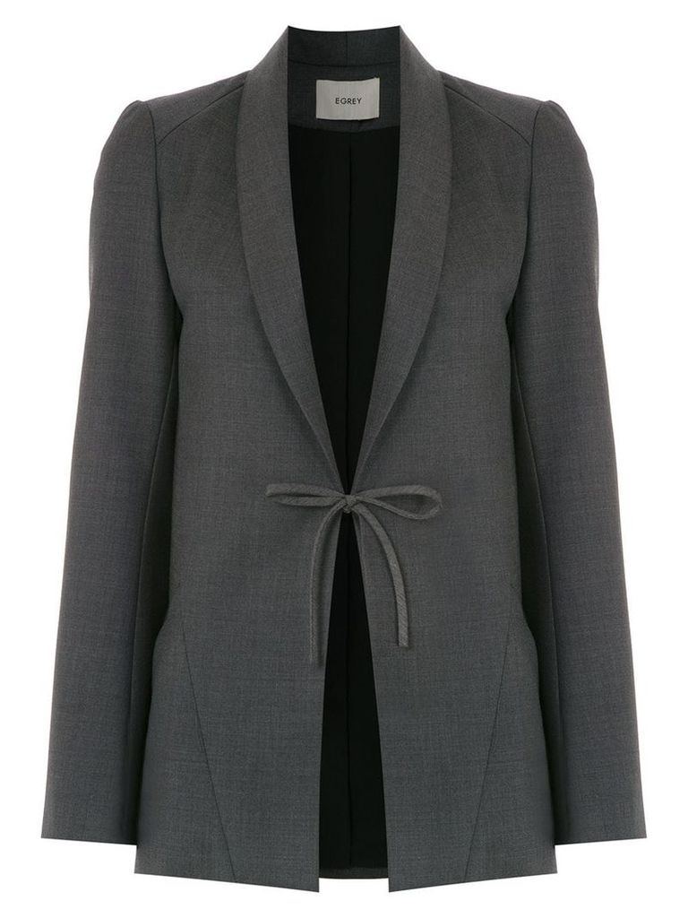 Egrey wool blazer