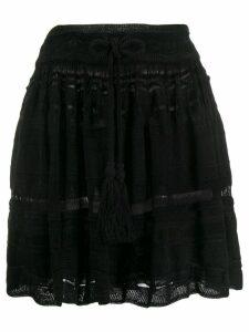 Laneus full mini skirt - Black