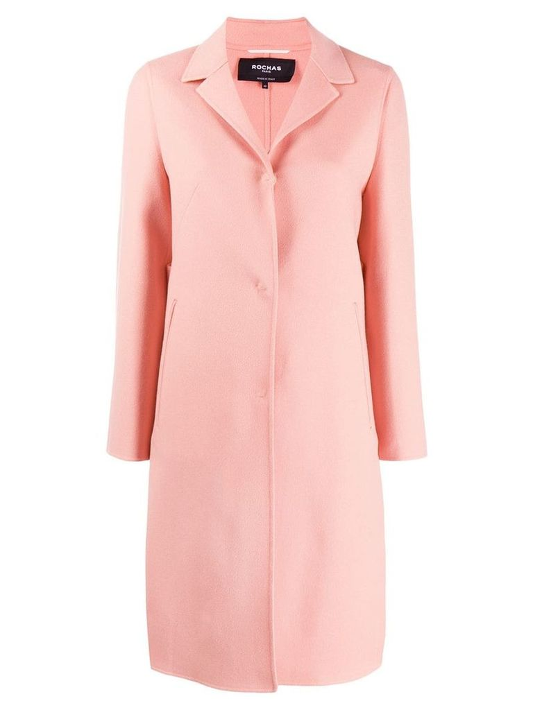 Rochas single breasted coat - Pink