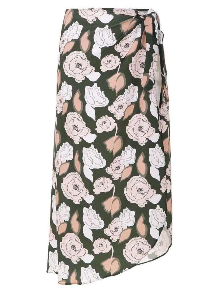 Adriana Degreas printed skirt - Green