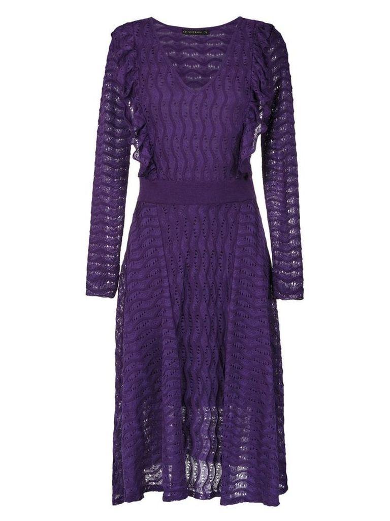 Cecilia Prado Gertrudes midi dress - Purple