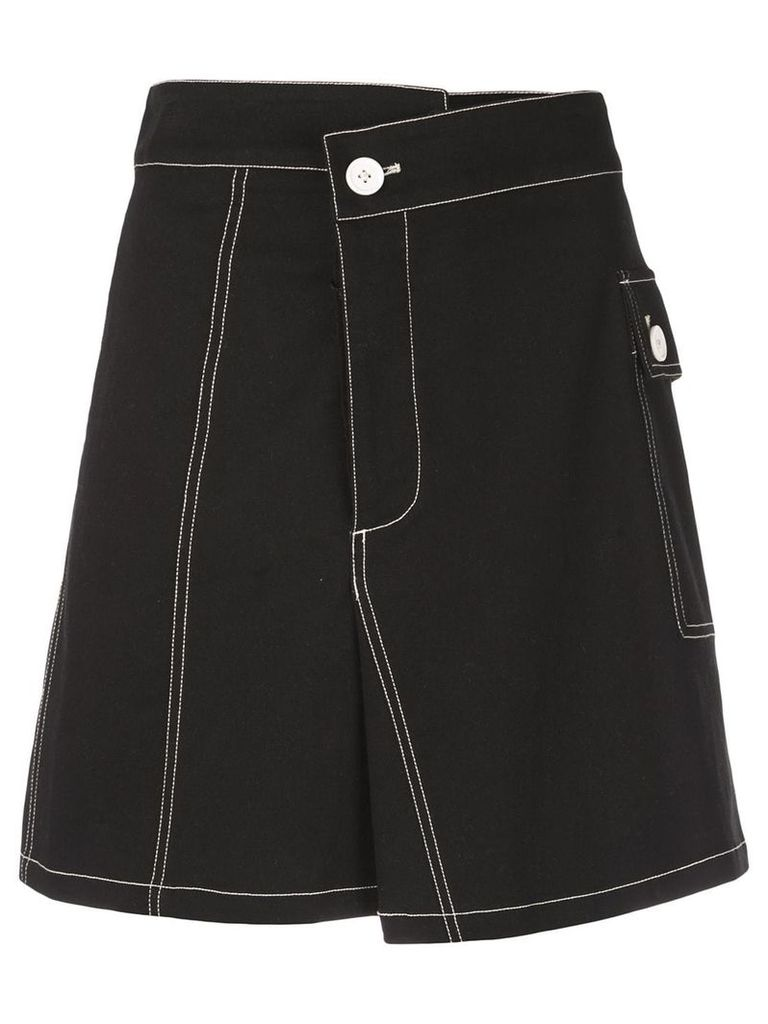 Proenza Schouler utility cotton twill skirt - Black