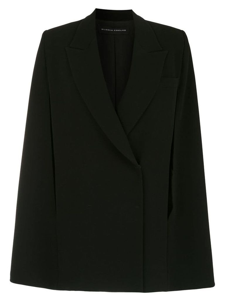 Gloria Coelho double breasted blazer - Black
