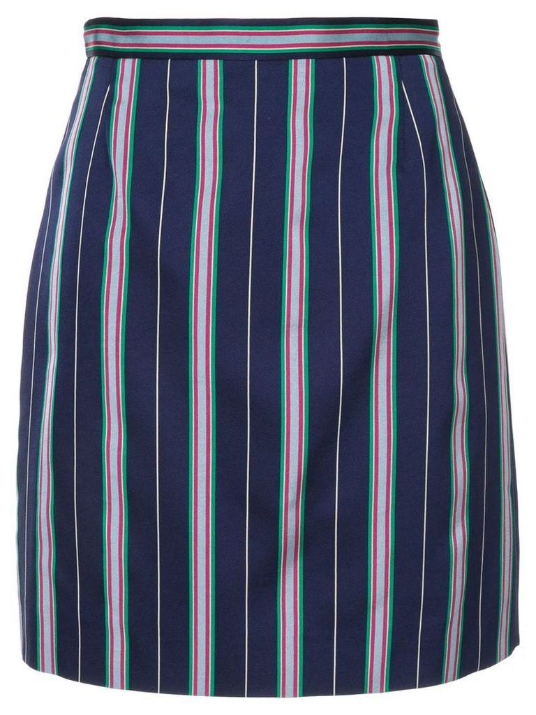 Nina Ricci striped skirt - Blue