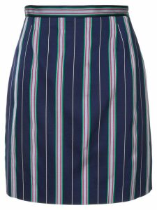 Nina Ricci striped skirt - Blue