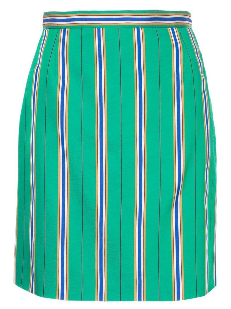 Nina Ricci striped skirt - Green